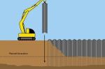 تحقیق رفتار پرده های سپر فلزی ساحلی در مقابل خاک های روان شده